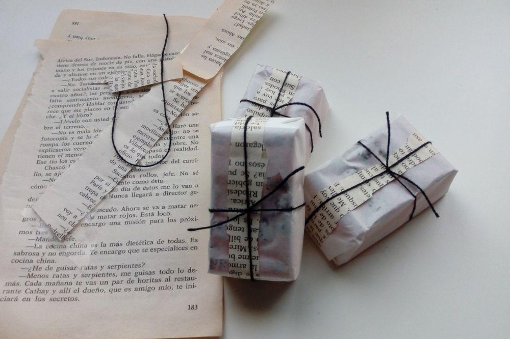 Originele alternatieven voor inpakpapier